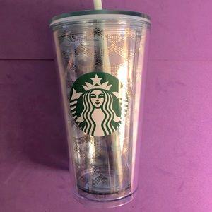 Starbucks 16oz Iridescent Mermaid Scales Tumbler